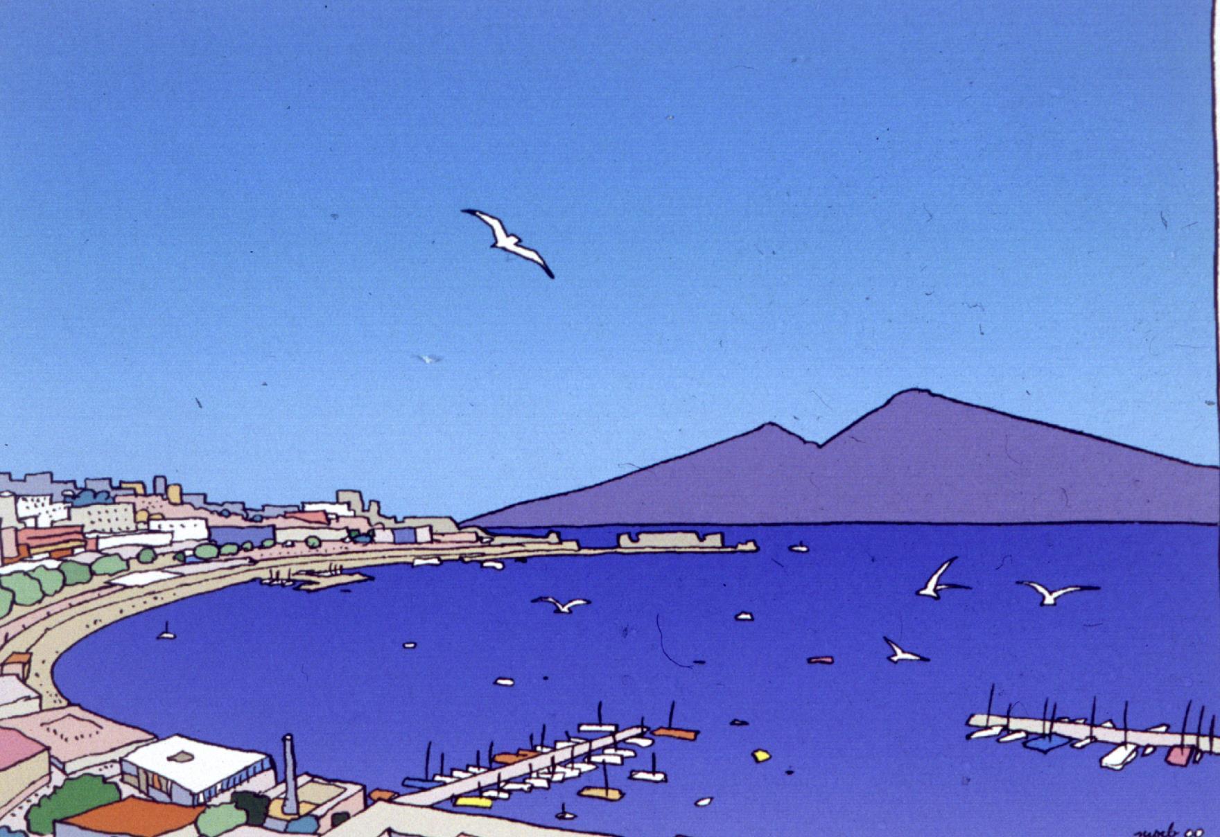 Naples vue par Moebius