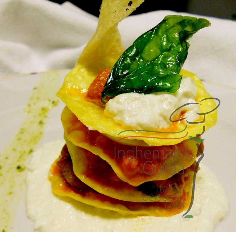 Lasagnette croccante alla Partenopea