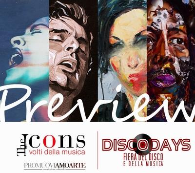 Mostra The Icons DiscoDays 2013 Casa della Musica Napoli