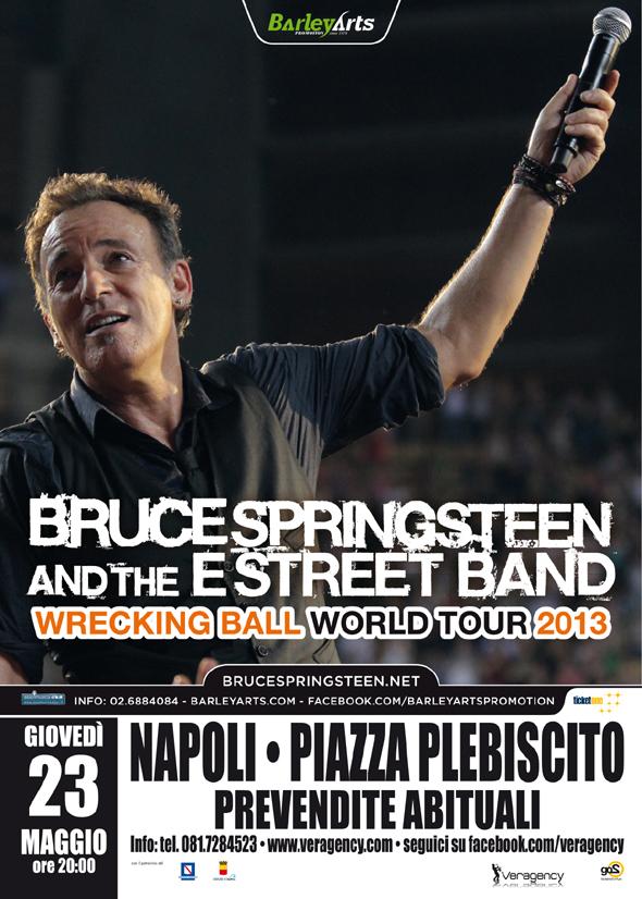 Bruce Springsteen Napoli