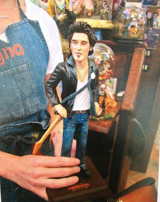Bruce Springsteen statuetta san Gregorio Armeno