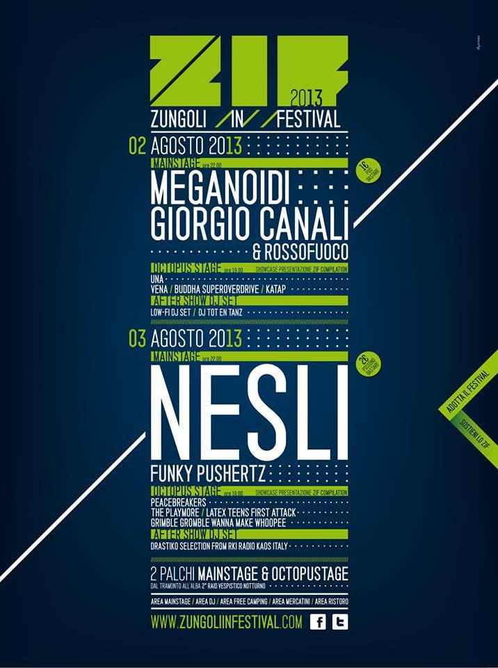 Zungoli in Festival
