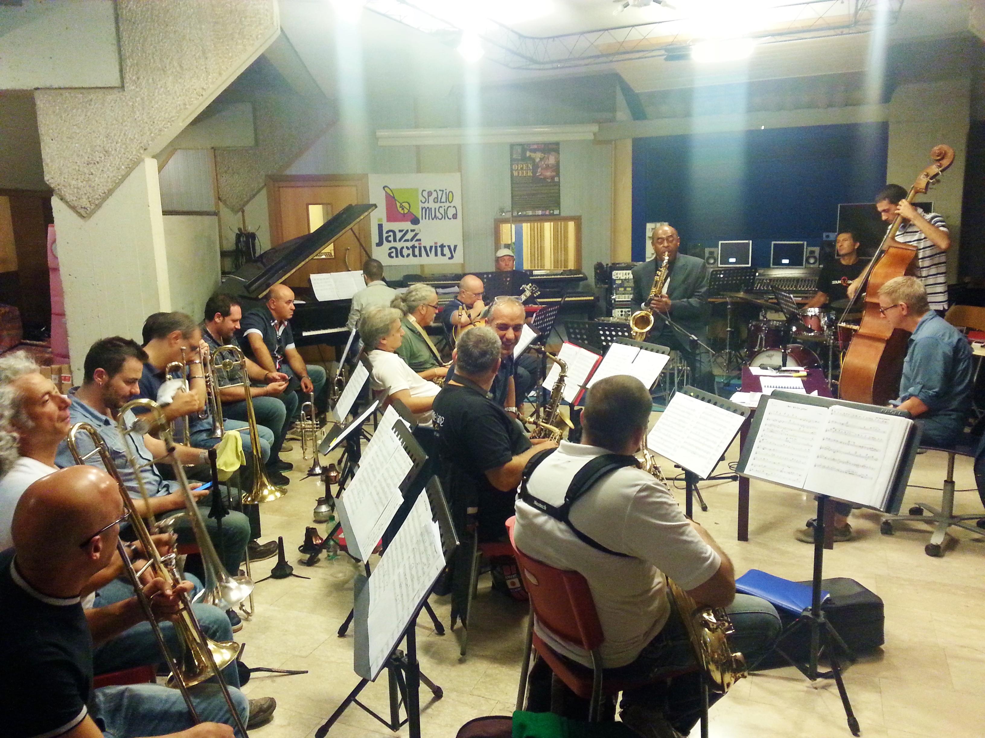 Pomigliano Jazz in Campania XVIII: Archie Shepp prova con l'Orchestra Napoletana di Jazz