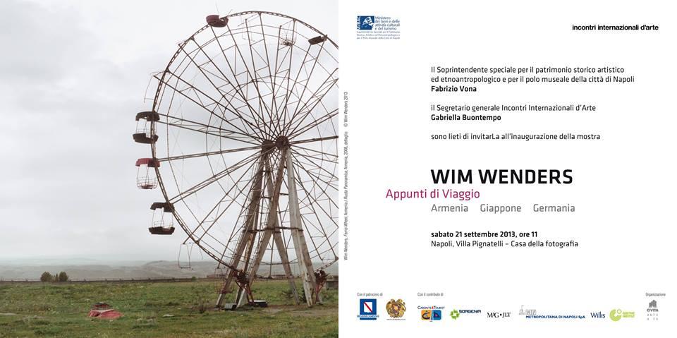 Appunti di viaggio - Wim Wenders