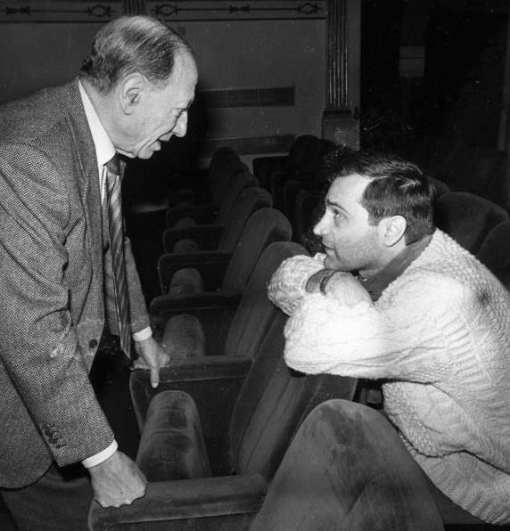 Renato Carosone con Federico Vacalebre